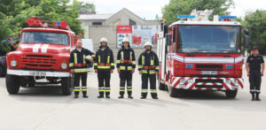 Cu prilejul zilei profesionale Serviciului Protecţiei Civile  şi Situaţiilor Excepţionale