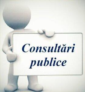 Consiliul raional anunță Dezbateri publice